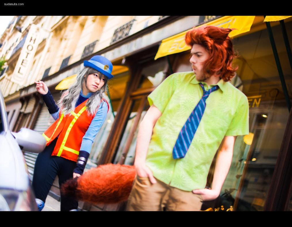 TrustOurWorldNow《疯狂动物城》cosplay赏