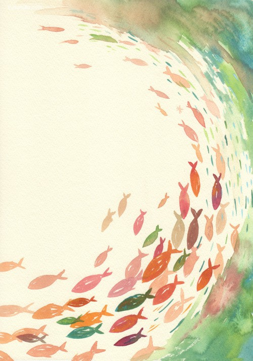 武多弘树 动物水彩肖像插画欣赏