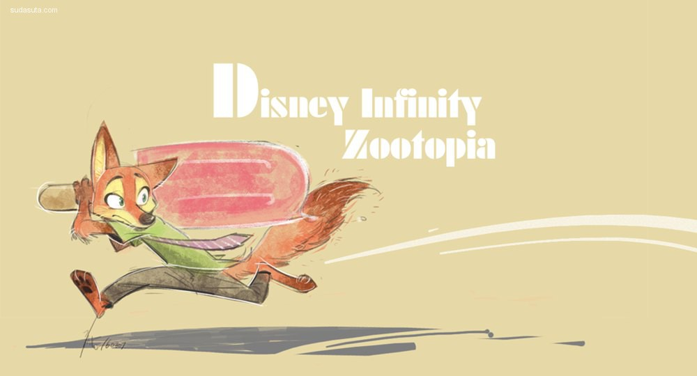 Ganym0《疯狂动物城 Zootopia》同人手绘欣赏