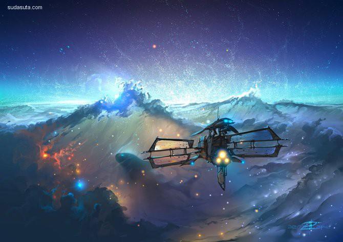 Aerroscape 幻想插画欣赏