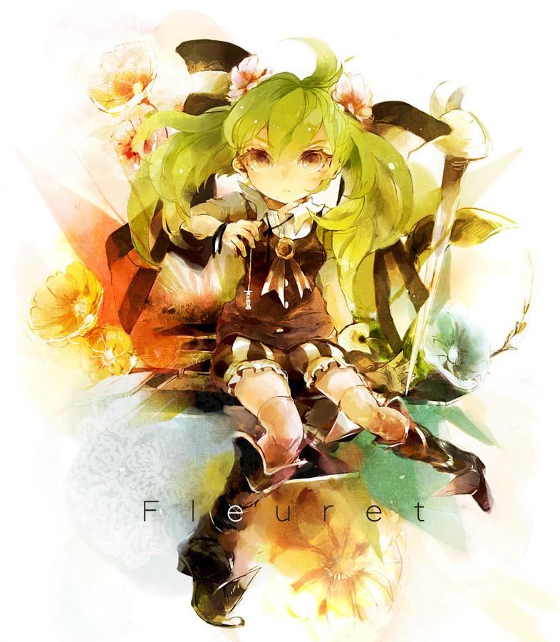 Azmaya 少女漫画CG欣赏