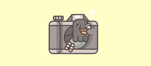 创意LOGO设计欣赏 更多照相机