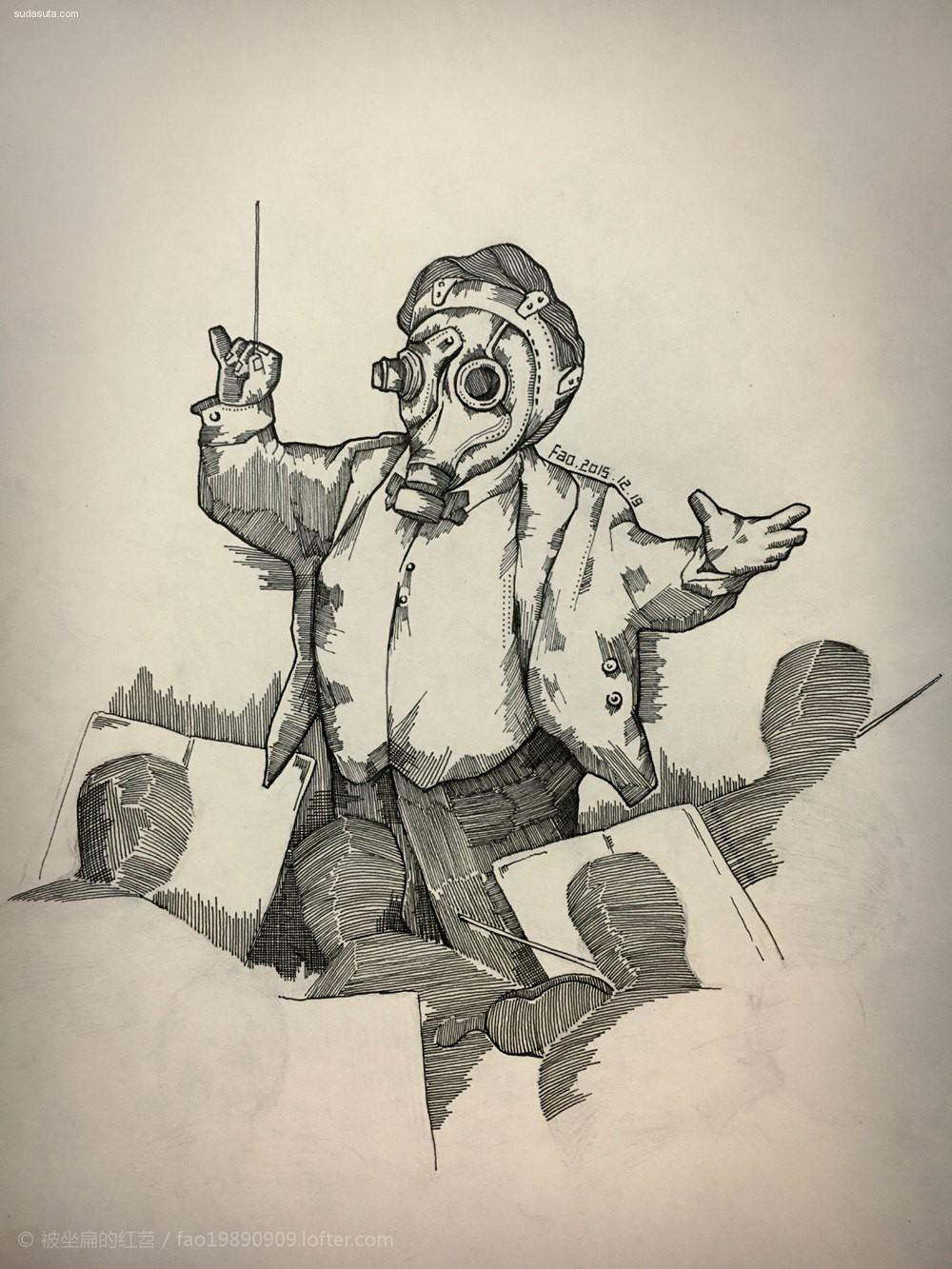 影楼道具_-Fao- 原创系列插画《Radiation》 - 苏打苏塔设计量贩铺 – sudasuta.com ...