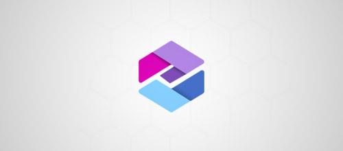 50+六角形创意LOGO标志设计欣赏