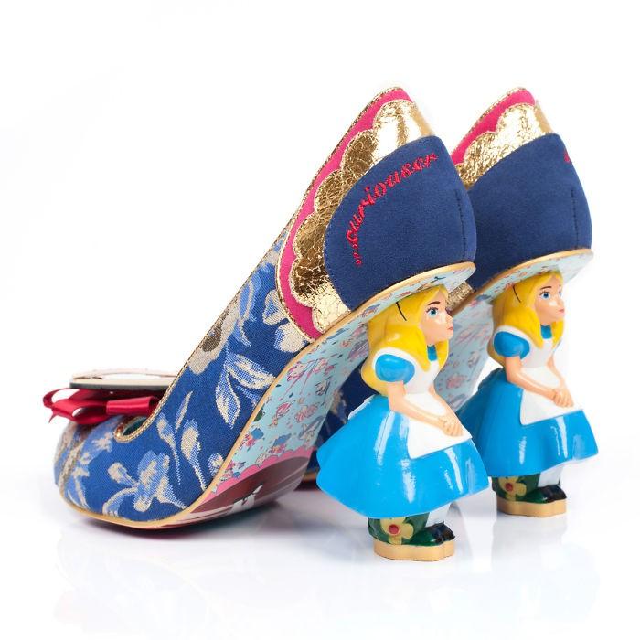 爱丽丝梦游仙境 主题鞋子设计欣赏