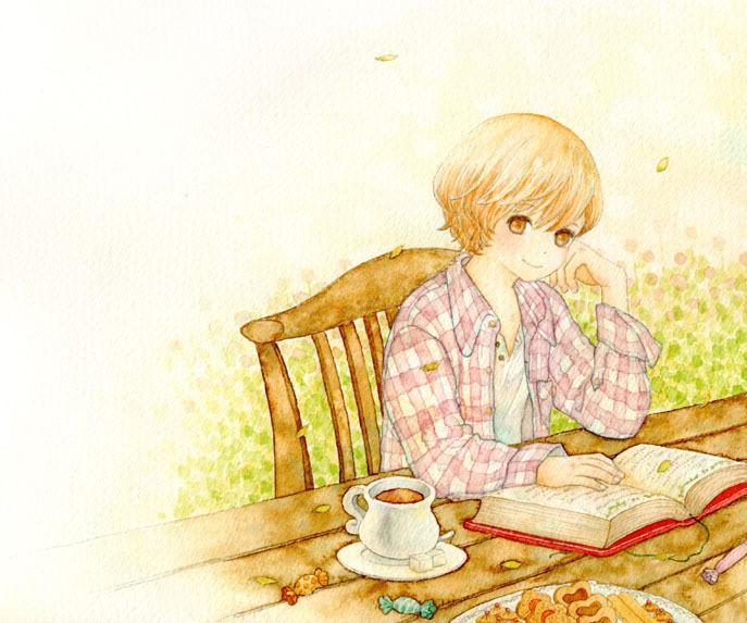 日本插画家 katedoraru 少女漫画欣赏