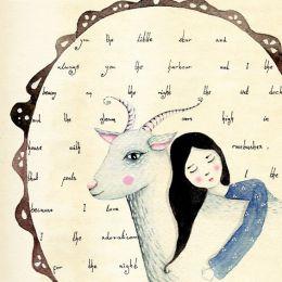 Lily Moon 清新可爱的插图