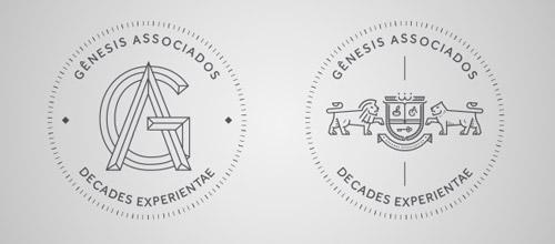 30+ 细线条的创意LOGO设计欣赏