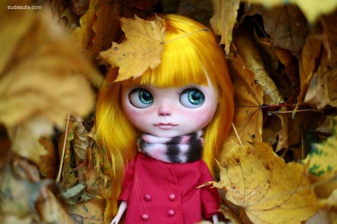 玩具设计师Oso Polar 的娃娃