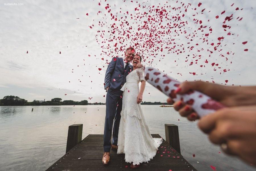 25个令人幸福爆棚的惊人的婚礼照片