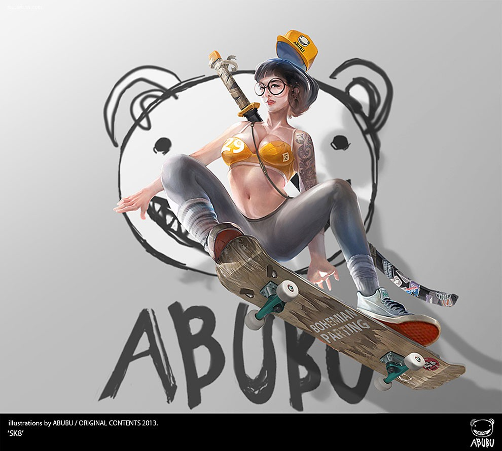 Abubu 概念插画欣赏