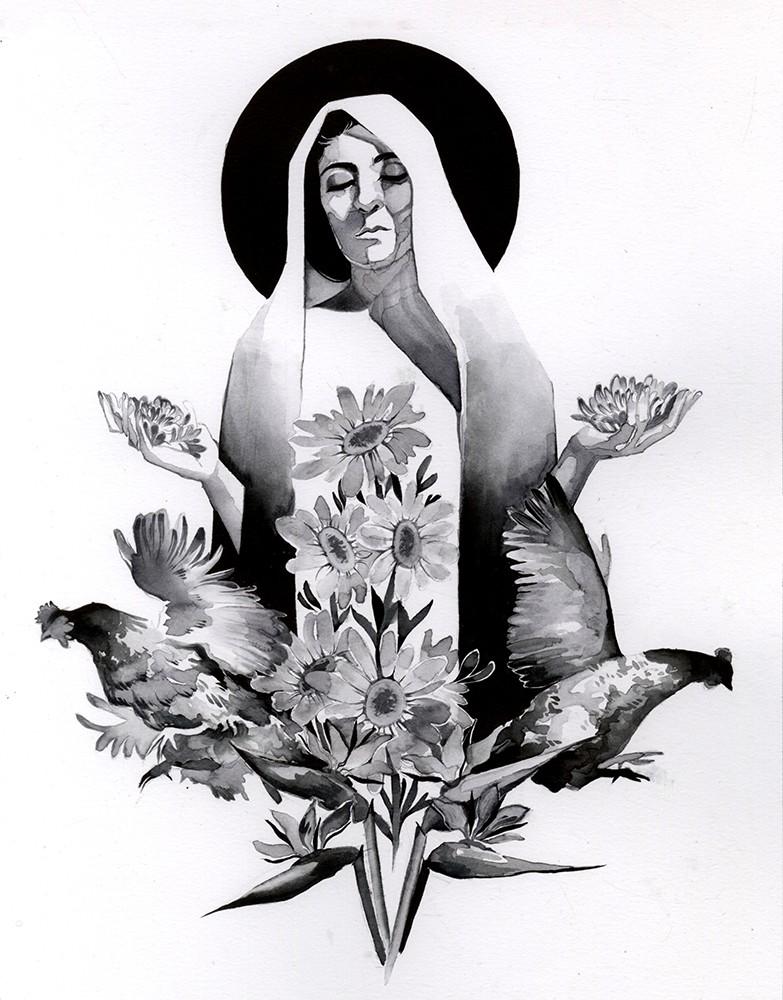 Ally Easter 插画作品欣赏