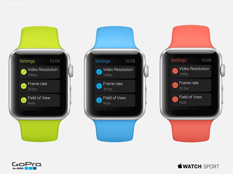 Apple Watch 界面设计及动态设计欣赏