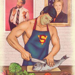 超级英雄的秘密生活 蝙蝠侠VS超人