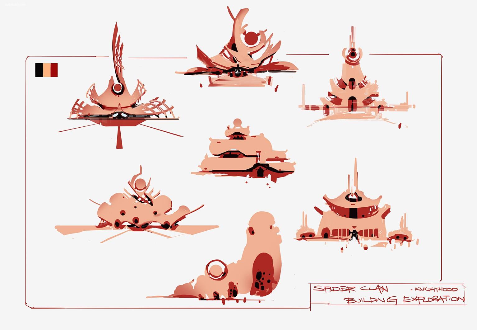 Ben Lo 卡通人物造型设计及概念插画欣赏