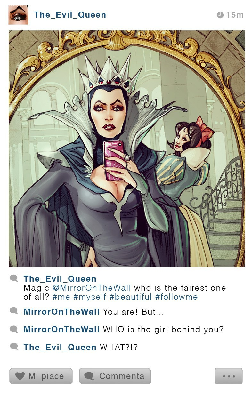 Simona Bonafini 如果迪士尼人物都有Instagram