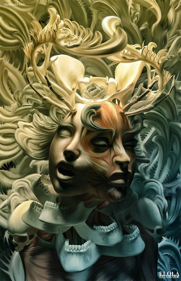 Alfonso Elola 视觉艺术欣赏