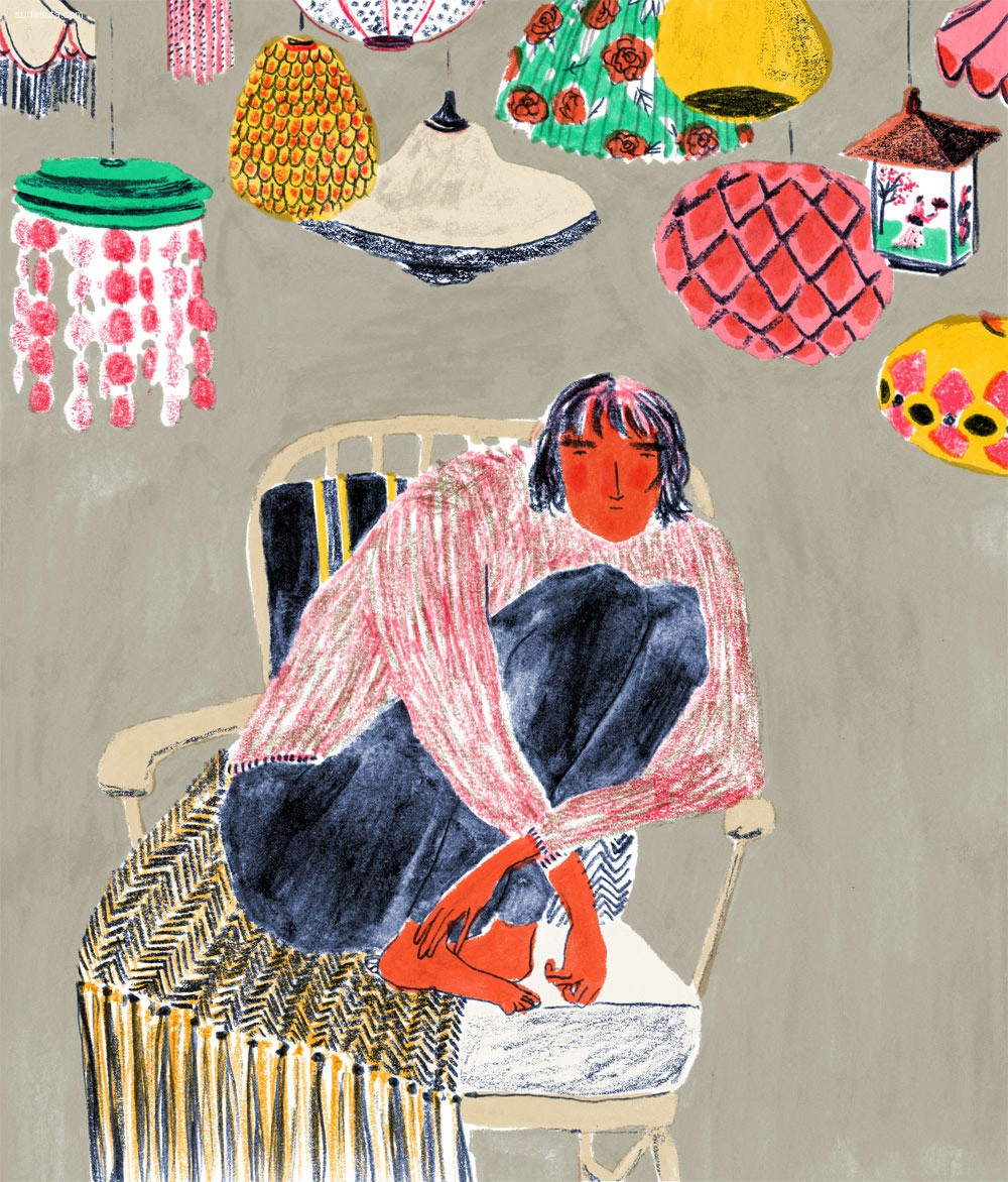 Mouni Feddag 绘画艺术欣赏
