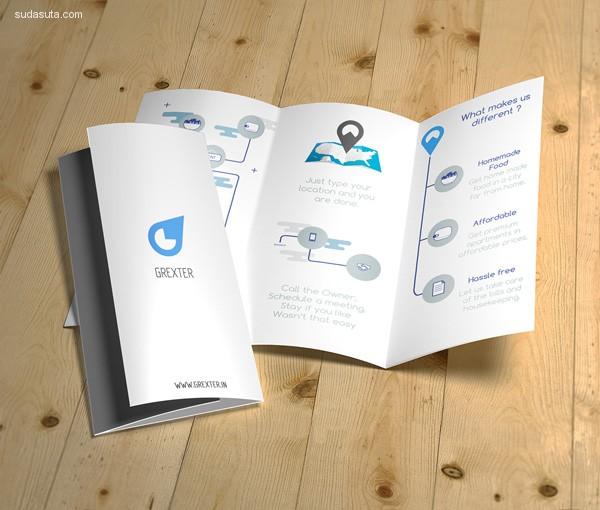 25个扁平化设计风格的画册设计欣赏