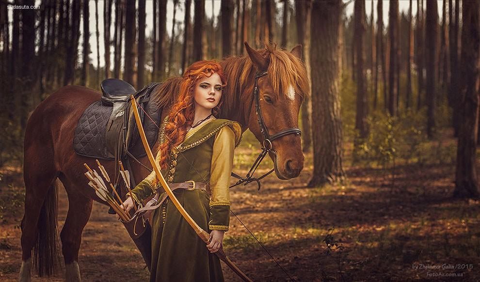 Galiya Zhelnova 梦幻般的时尚摄影欣赏