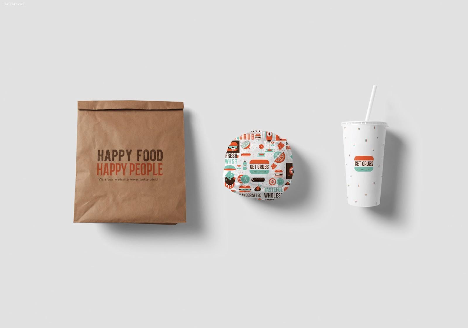 Get Grubs 食品包装设计欣赏