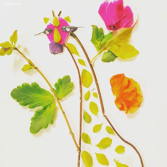 Haleli Jabotinsky 叶子和花的爱