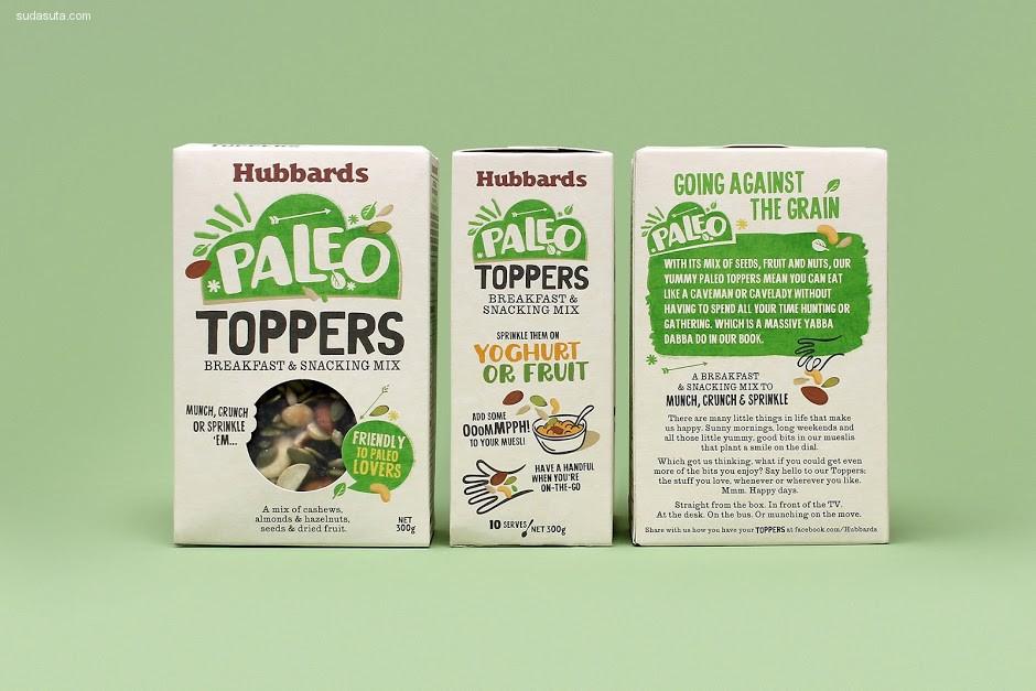 Hubbards 包装设计欣赏