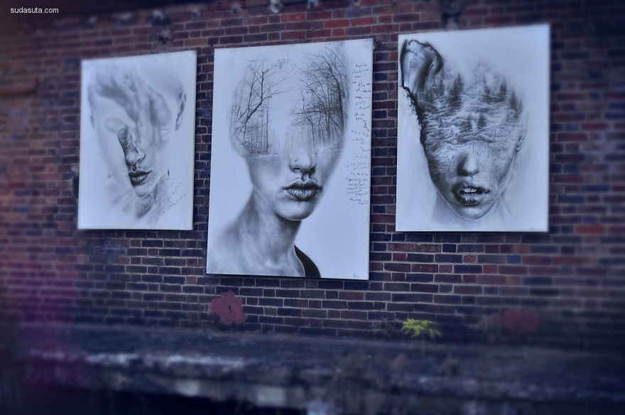 Igor Dobrowolski 抽象肖像插画欣赏