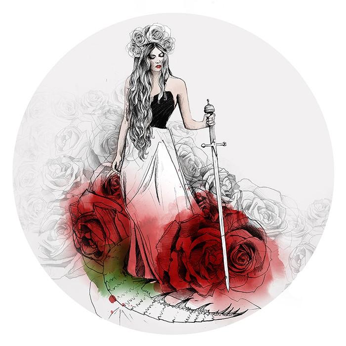 Ina Stanimirova 时尚手绘水彩插画欣赏