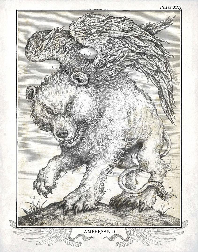 A到Z的符号 动物怪物寓言
