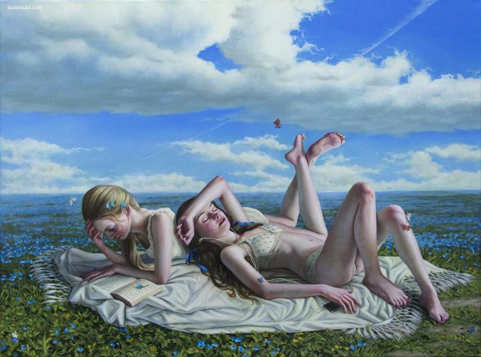 Jana Brike 绘画艺术欣赏