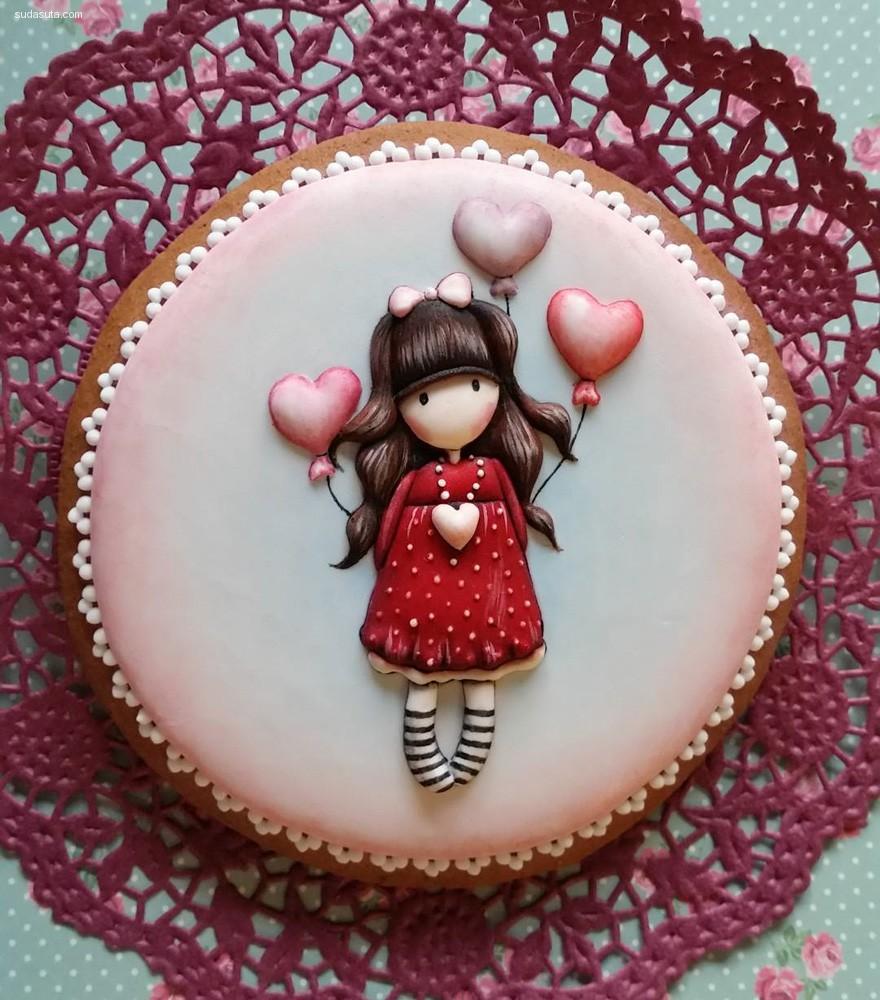 Judit Czinkné Poór 焦糖蛋糕设计欣赏