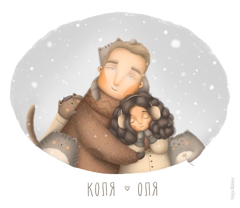 Katya Maleev 儿童插画《Light》