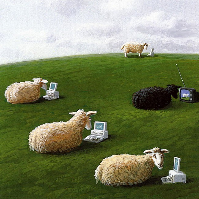 Michael Sowa 艺术插画欣赏