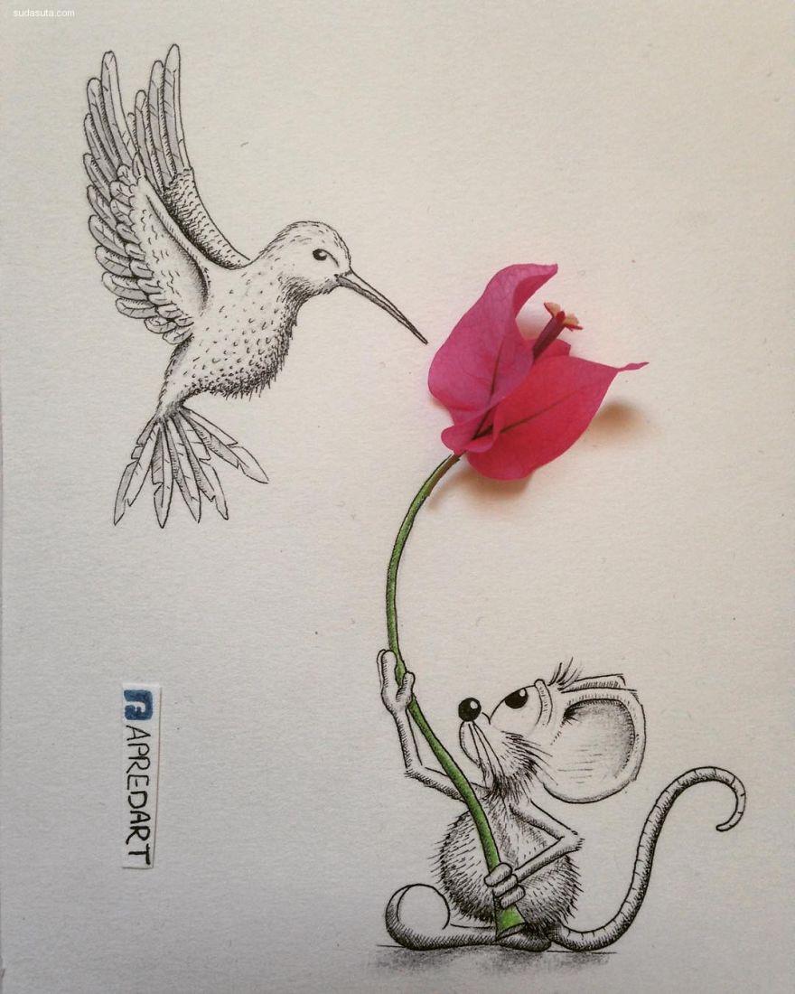 Loïc Apreda 关于宠物老鼠Rikiki的绘本故事