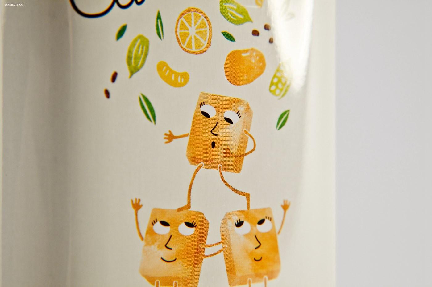 Happycentro 品牌设计欣赏