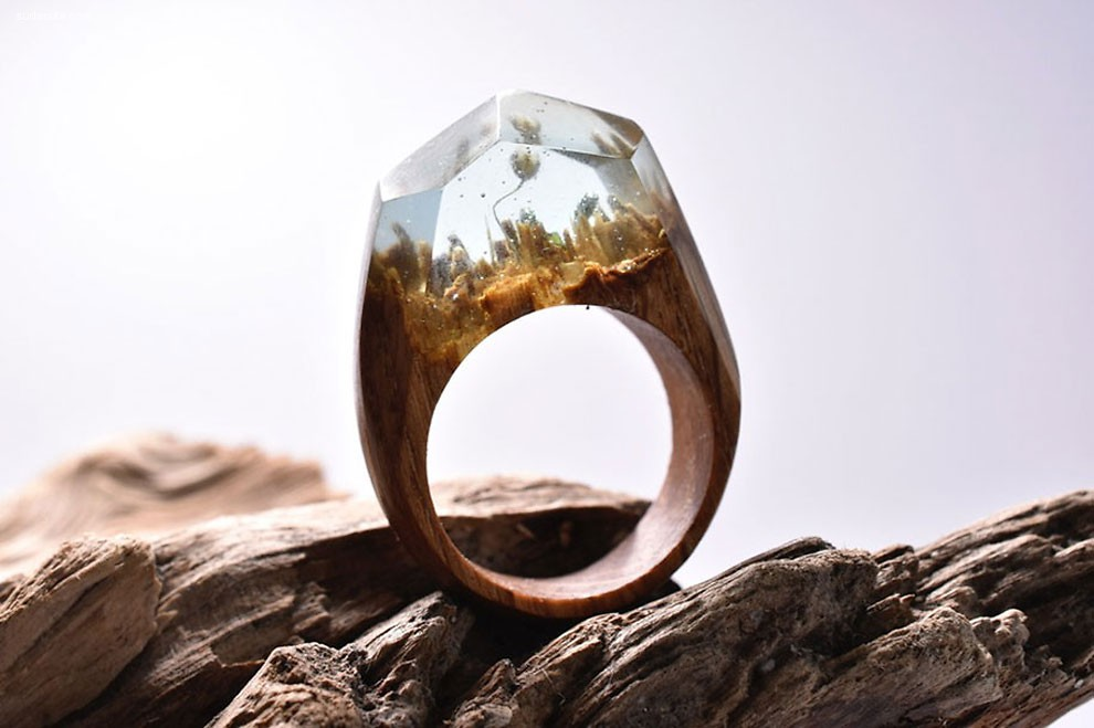 Secret Wood 戒指中的小世界