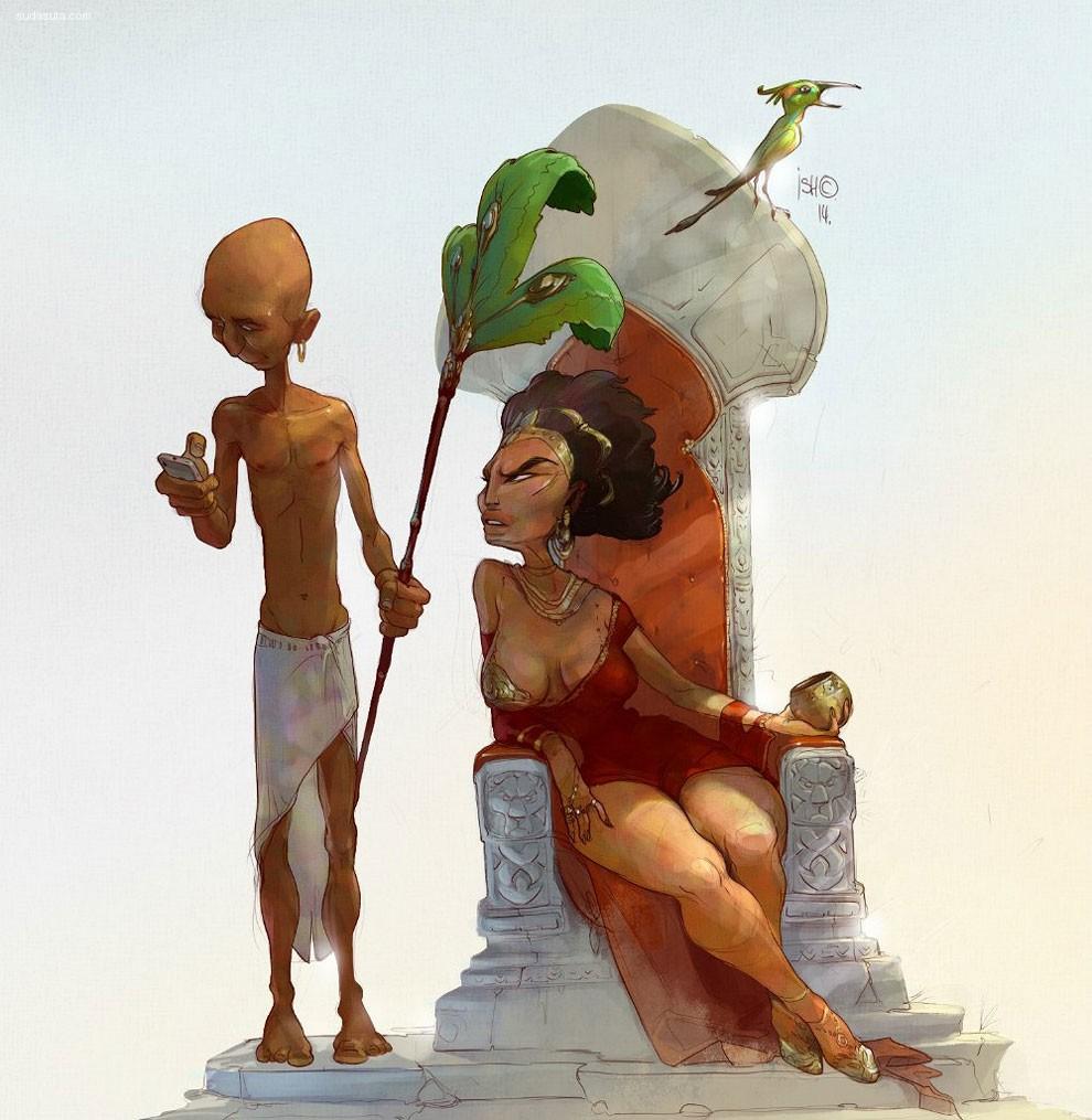 Sergey Ishmayev 性感卡通CG欣赏