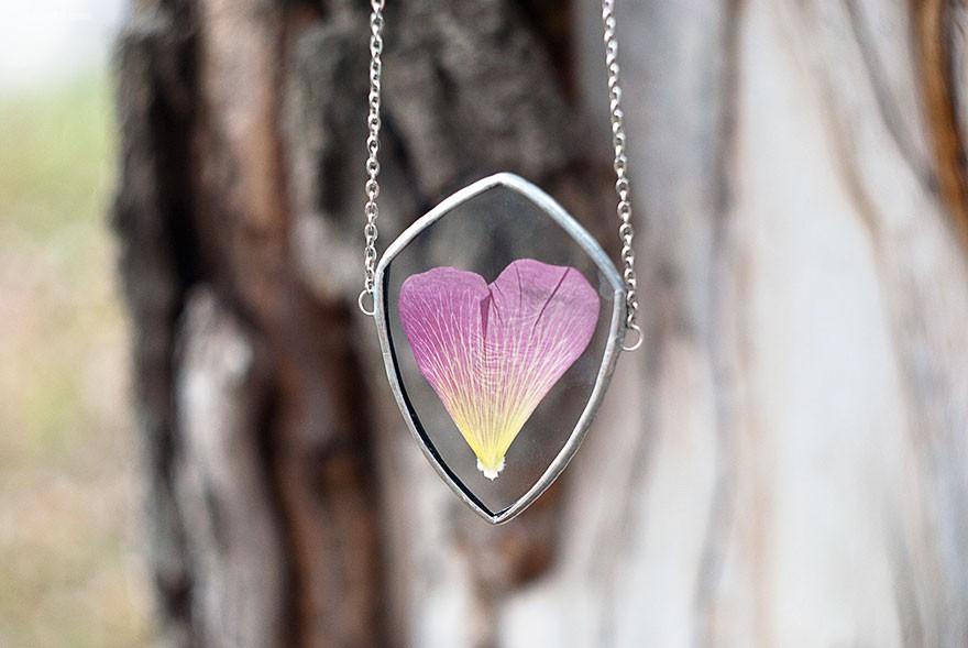 自然珠宝设计师Stanislava Korobkova