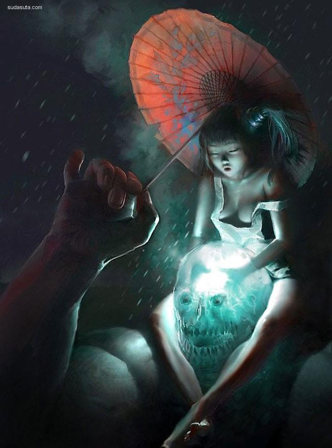 Steven Stahlberg 性感CG插画欣赏
