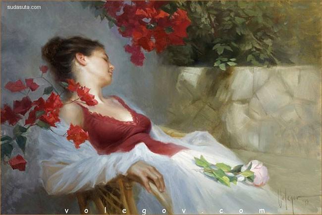 Irina Andreyeva 柔软细腻的女性插画