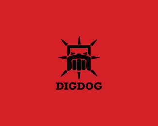 创意LOGO设计欣赏 斗牛犬