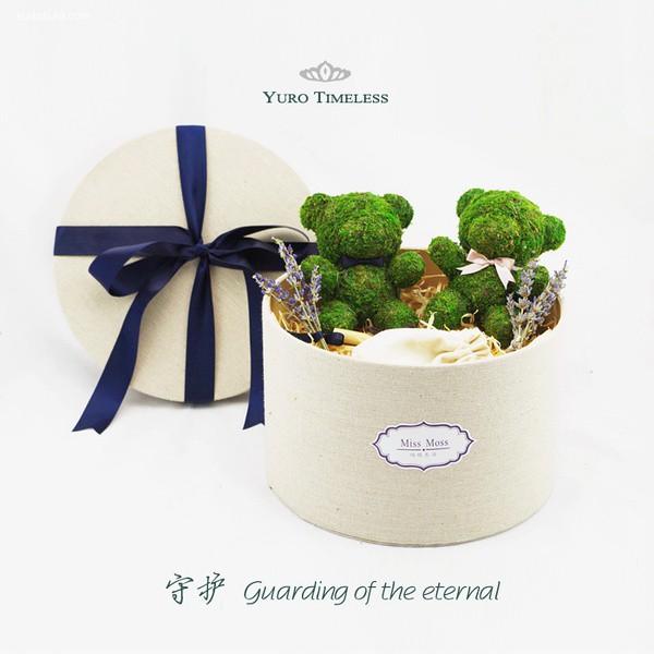 屿路生活 永生花盒,当你途径我的盛放