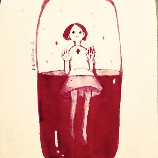 Keiko 可爱的少女漫画手绘欣赏