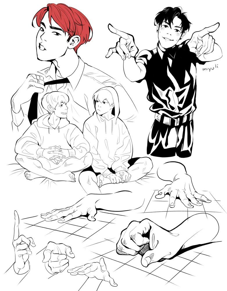 Miyuli 动画分镜及插画作品欣赏