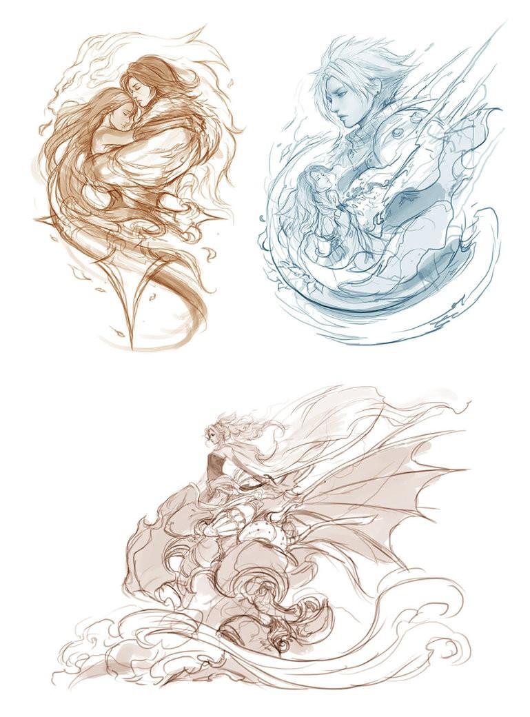 新加坡艺术家Muju 概念插画欣赏