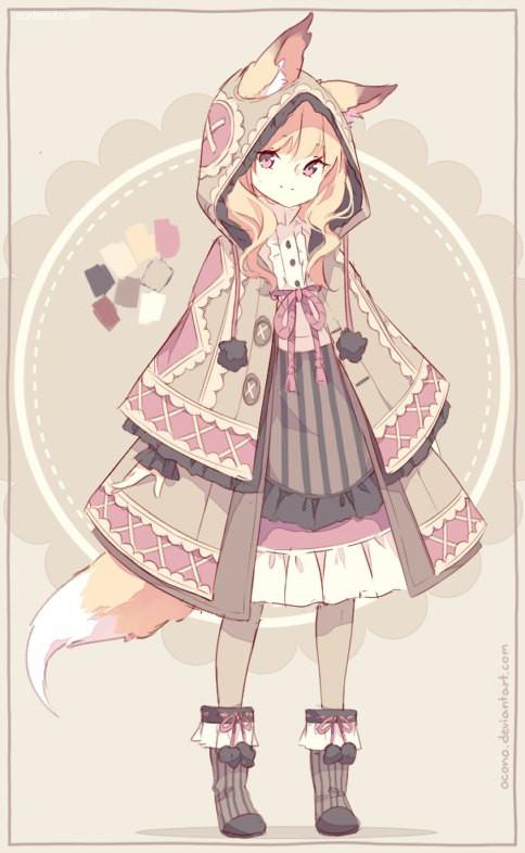 Ocono 萌蠢可爱的二次元美少女