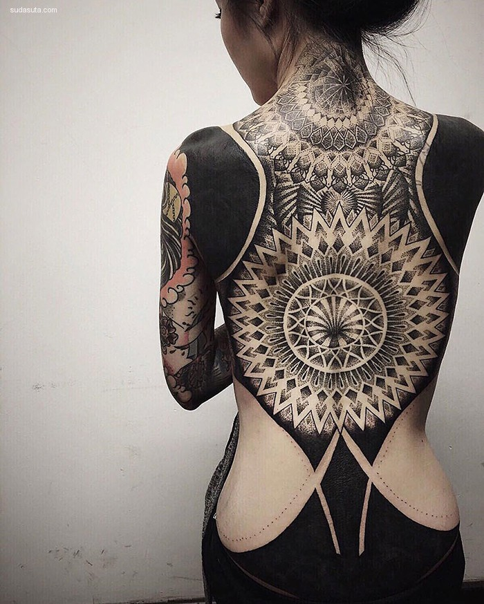 Chester Lee 纹身设计欣赏