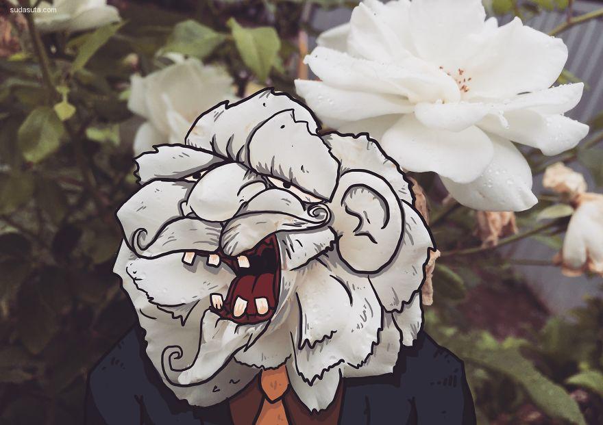Jasper 幽默可爱的生活插画