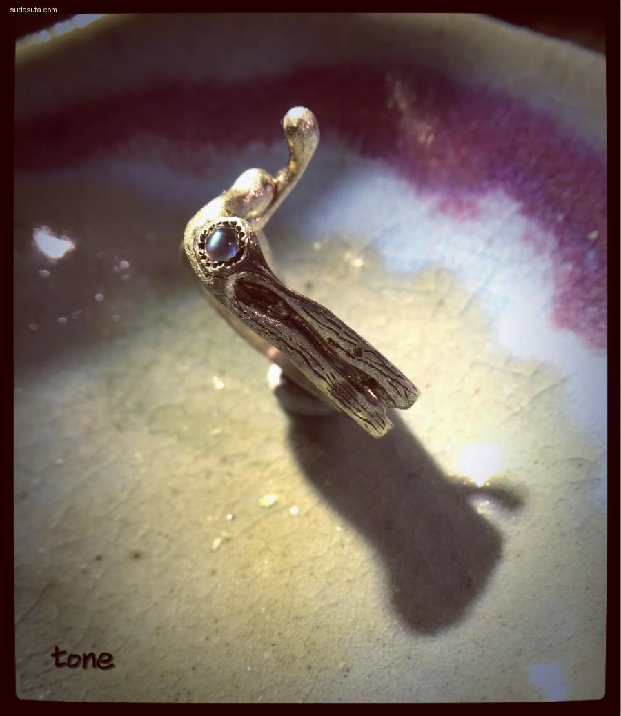 伊果diy原创首饰设计作品《孤独的你》